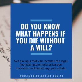 Do you know what happens if you die without a Will? image